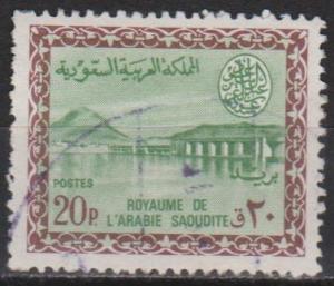 Saudi Arabia #305 F-VF Used (ST389)