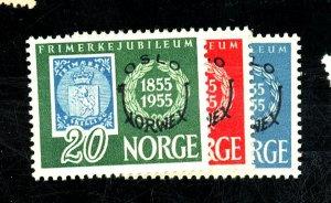 NORWAY 340-2 MINT FVF NG Cat $60