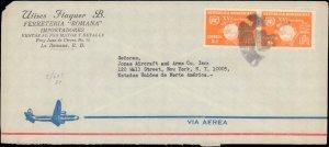 Dominican Republic, U.P.U. Universal Postal Union