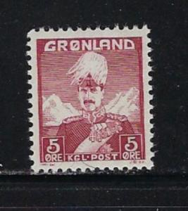 Greenland 2 NH 1938 issue
