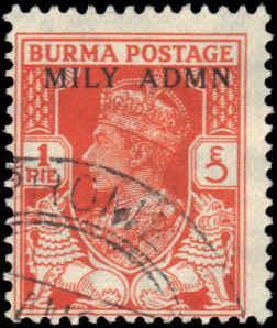 Burma #35 Used Fair 2-6