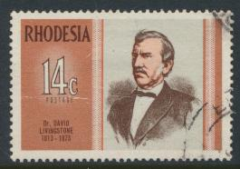 Rhodesia   SG 480  SC# 299   Used  Famous Rhodesians   see details