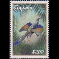 GUYANA 2001 - Scott# 3663 Archaeopteryx $200 NH