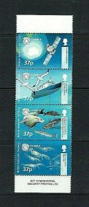 British Antarctic Territory: 2002  Anniversary of Marine Conservation MNH set