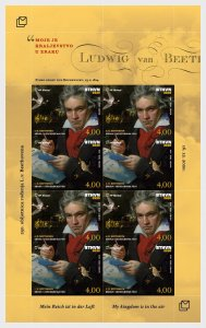 250th Anniversary Of The Birth Of Ludwig Van Beethoven - Sheet
