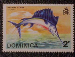 Dominica Scott #423 mnh