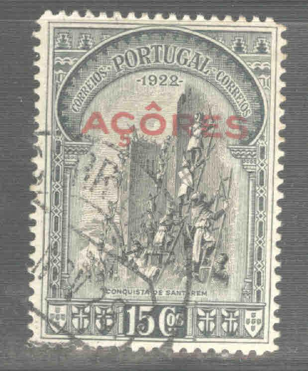 Azores Scott 289 Used from 1928 Third Independence issue
