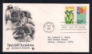 US FDC Sc.# 2268 2269 Special Occasions K203
