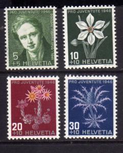 SWITZERLAND SUISSE SCHWEIZ SVIZZERA 1946 PRO JUVENTUTE POUR LA JEUNESSE COMPL...