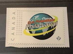 Canada Post Picture Postage Mint NH *Phila Laval Club*  *P* denomination
