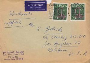 Germany, Airmail, Europa