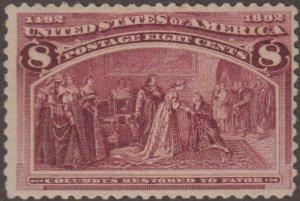 US Stamp #236 Mint Hinged 2361209224