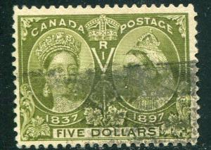 Canada #65  Used  well centered
