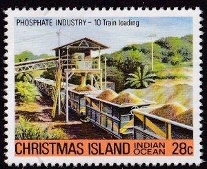 Christmas Island #104 Mint
