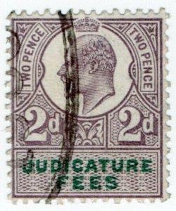 (I.B) Edward VII Revenue : Judicature Fees 2d