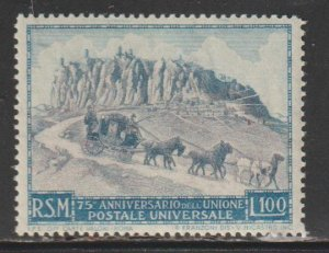 San Marino   SC  304  Mint Lightly Hinged