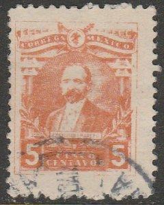 MEXICO 510 5¢ Pres. FRANCISCO I. MADERO.USED. VF. (1207)