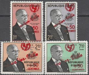 Haiti #B23-4, CB39, CB41  MNH VF CV $3.55 (K2375)