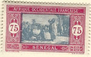 Senegal Sc #110 F-VF Mint OG hr French Colonies are Hot!