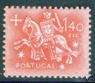 Portugal Scott 767 MH* Equestrial seal of King Diniz