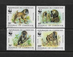APES - CAMEROONS WWF-#843-6  MNH