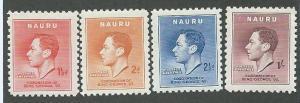Nauru  Scott 35-38  Mint  Complete
