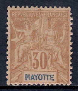Mayotte - Scott #12 - MLH - Regummed - SCV $22