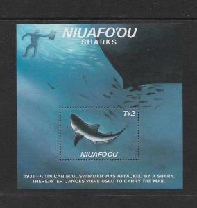 SHARKS  - NIUAFO'OU #89   MNH