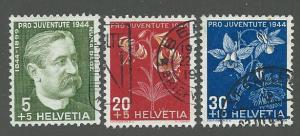 Switzerland  Scott B137-B140  Used   Short set