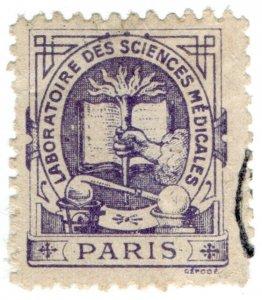 (I.B) France Cinderella : Trade Stamp (Laboratoire de Paris)