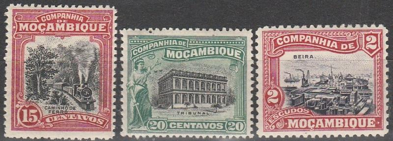 Mozambique Company #130-1, 144  F-VF Unused  CV $7.60  (A15087)