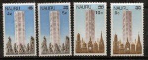 NAURU SG170/3 1978 SURCHARGES MNH