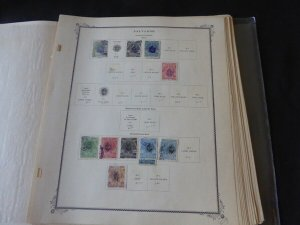 Salvador 1900-1940 Extensive Stamp Collection on Scott Specialty Album Pages