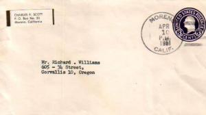 United States, California, Postal Stationery
