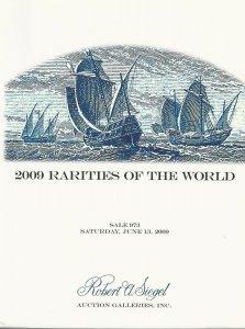 Rarities of the World 2009,  Robert A. Siegel, Sale #973, June 13, 2009
