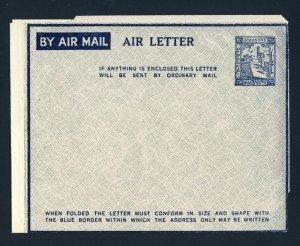 PALESTINE Aerogramme Air Letter Postal Stationary Unused