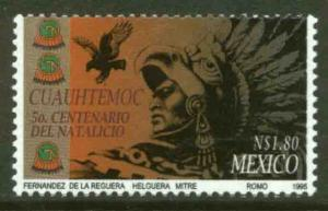MEXICO 1932, Cuauhtemoc, 500th Birthday Anniversary. MINT, NH. VF. (69)