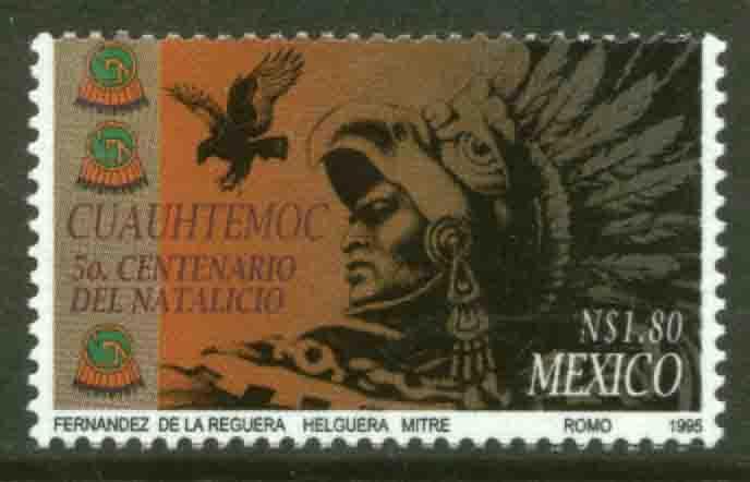 MEXICO 1932, Cuauhtemoc, 500th Birthday Anniversary. MINT, NH. VF. (69)