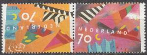 Netherlands #824a  MNH Tete-Beche