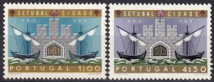 Portugal #873-4 F-VF Unused  CV $16.35  (Z8011)