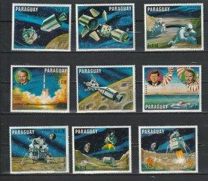 Paraguay space 1970 Mi-2005/2013 Apollo 11