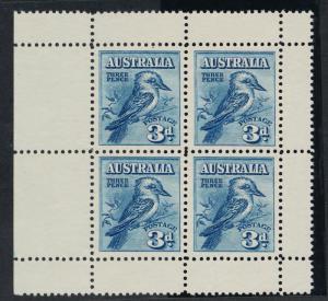 AUSTRALIA 95a MINT KOOKABURRA PANE OF 4