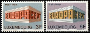 Luxembourg 1969 S.G. 836-837 MNH (1340)