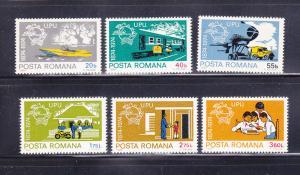 Romania 2486-2491 Set MNH UPU (B)
