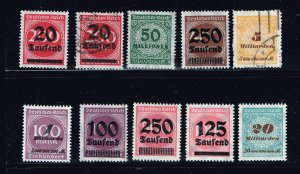 GERMANY STAMP COLLECTION LOT  #3
