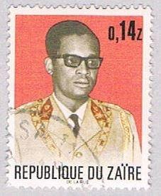 Zaire 778 Used Mobutu 1972 (BP38623)
