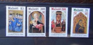 Malawi 1984 Xmas set MNH