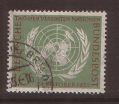 West Germany 1955 United nations   SG 1147 fine used