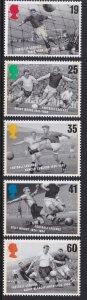 1663-67 1996 Europea Soccer Championships MNH