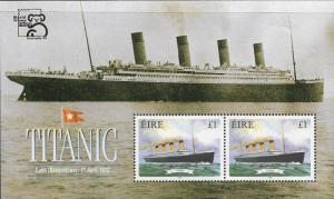 Ireland - 1172b - Maritime Heritage - Titanic - SS